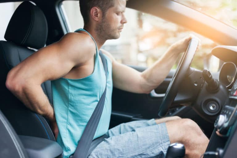 How to Treat Back Pain After a Car Accident